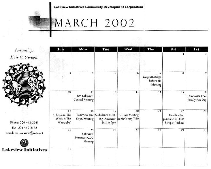 Langruth News 2002